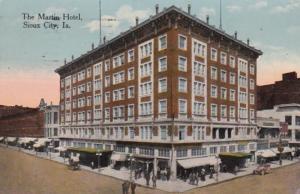Iowa Sioux City The Martin Hotel 1915