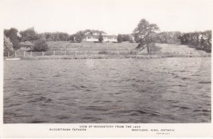 RP, MARYLAKE, KING , Ontario, Canada, 20-30s ; Monastery From The Lake