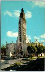 Tulsa, Oklahoma Postcard BOSTON AVENUE METHODIST CHURCH Curteich Chrome c1950s