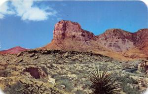 Texas~El Capitan & Guadalupe Peaks~Signal Peak~1950s Postcard