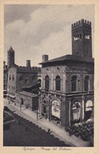 Piazza Del Nettuno, Bologna (Emilia-Romagna), Italy, 1910-1920s