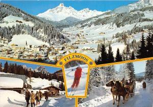 BG26932 filzmoos salzburg ski horse   austria