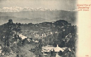 India General View of Darjeeling with Snows 05.05