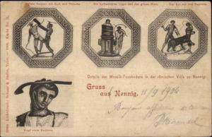 Gruss Aus Nennig Germany c1900 Used Postcard