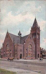 Central Presbyterian Church Denver Colorado