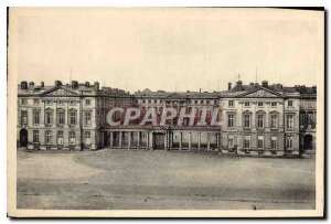 Postcard Old Chateau de Compiegne frontage to the Place d'Armes