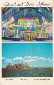 New York City Toffenetti Restaurant 1962