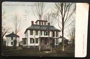 Johnson Hall Johnstown NY 1907 E.C. Newton S.532