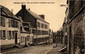 CPA Vervins. Rue des Prétres et Institution Notre Dame. (665974)