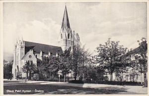 OREBRO, Sweden, 1910-1920s; Olaus Petri Kyrkan