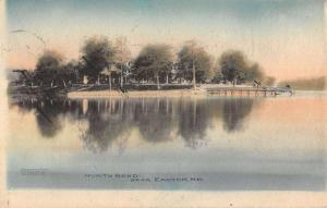 Easton Maryland North Bend Lake View Pier Antique Postcards K17461