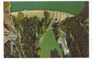 Turkey Ankara Cubuk Dam Aerial View Vtg Postcard 4X6
