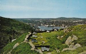 View From Signal Hill, Cannons, ST. JOHN´S, Newfoundland, Canada, 40-60´