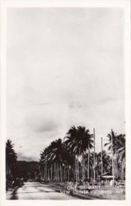 New Guinea Highway Scene Real Photo