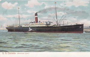 Dominion Ocean Liner S.S. Canada , 00-10s #3