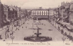 Les Allees De Tourny, Tourny Avenue, Bordeaux (Gironde), France, 1900-1910s