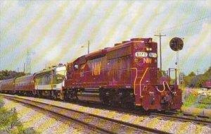 Train Norfolk &  Western's Toronto Convention Special SD-40-2 Num...