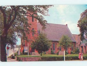 Unused Pre-1980 CHURCH SCENE Tallahassee Florida FL A7099@