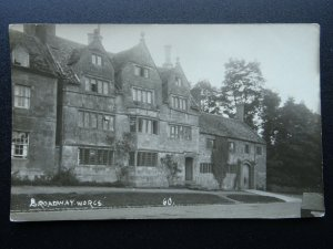 Worcestershire BROADWAY - Old RP Postcard by Percy Simms No.60