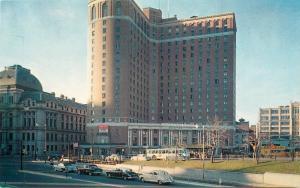 Providence RI~Sheraton Biltmore Hotel~Hertz Rent A Car~Nice 1940-50s Cars~PC
