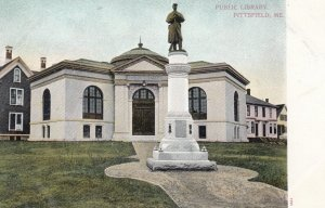 PITTSFIELD , Maine , 00-10s ; Public Library