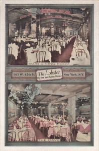 New York City Interior Main Dining Room and The Cave The Lobster Restaurant O...