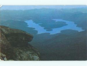 Pre-1980 LAKE SCENE Adirondacks - Lake Placid New York NY AE3649