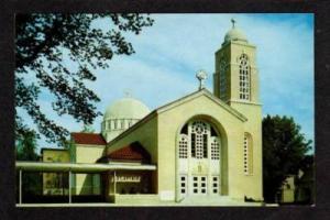 MA St Spyridon Greek Orthodox Church WORCESTER MASS PC