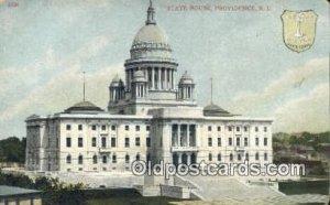 Providence, Rhode Island, RI State Capital USA Unused corner wear