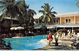 Nassau in the Bahamas Post card Old Vintage Antique Postcard Pilot House Club...