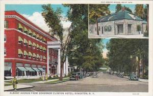 New York Kingston Albany Avenue From Governor Clinton Hotel