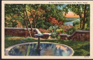 Texas ~ WACO A View in Beautiful Cameron Park - pm1946 - LINEN