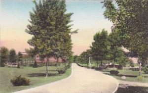 Driveway- Looking West, National Home, Daughters Of America, Tiffin, Ohio, 19...