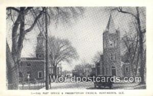 Huntingdon, Quebec Canada, du Canada Post Office & Presbyterian Church Huntin...