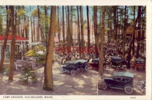 1930 CAMP GROUNDS, OLD ORCHARD, MAINE vintage autos