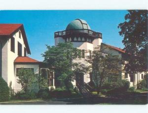 Unused Pre-1980 MORAINE FARM OBSERVATORY Dayton Ohio OH E7279