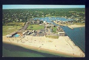 Harwich Port, MA/Mass Postcard, Aerial Of Wychmere Harbor Club, Cape Cod, 1969!