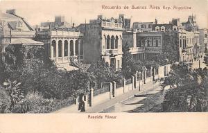 Argentina Recuerdo de Buenos Aires, Avenida Alvear