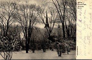 New York Syracuse Fayette Park 1907