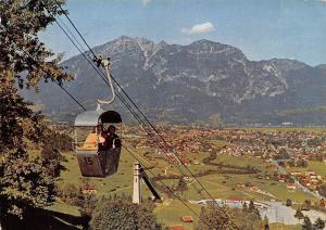 Eckbauerbahn gegen Garmisch-Partenkirchen und Kramer, Cable Car General view