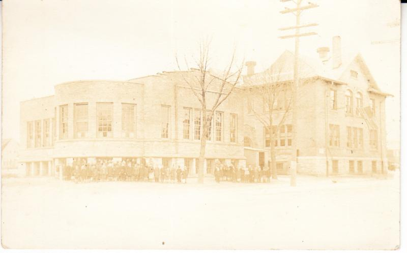 Tippecanoe School Milwaukee Real Photo