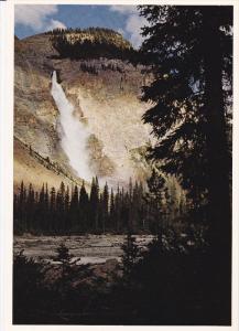 Takakkaw Falls, YOHO NATIONAL PARK, British Columbia, Canada, 50-70's