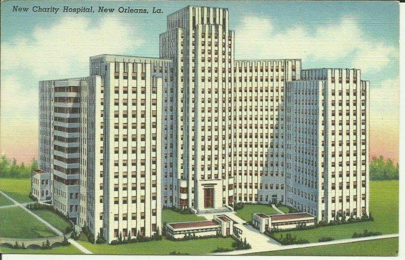 New Orleans, La., New Charity Hospital