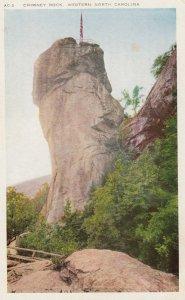 CHIMNEY ROCK, Western North Carolina, 1910-20s