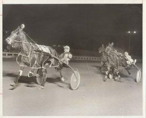 YONKERS RACEWAY, Harness Horse Racing, CLIPTON wins