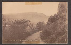 Abbey Craig & The Wallace Monument From Back Walk Sterling - Used