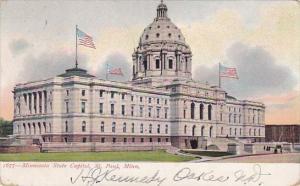 Minnesota Saint Paul Minnesota State Capitol 1906