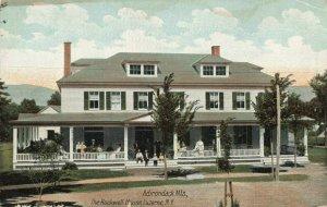 Postcard Rockwell House Luzerne New York