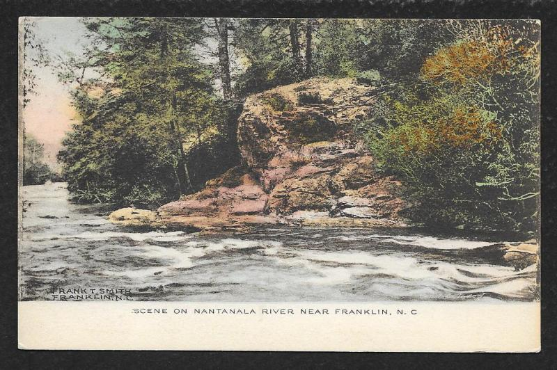 Water View Nantanala River Franklin North Carolina Unused c1910s