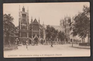 Westminster Abby & St Margaret's Church, London England - Unused